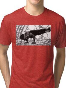 Yoga art 5 Tri-blend T-Shirt