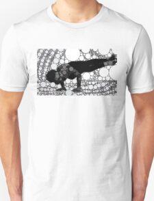 Yoga art 5 Unisex T-Shirt