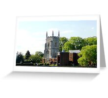 Church by the River Thames Greeting Card