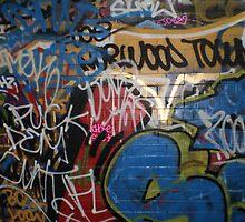 Leake Street Tagging by runjoerun