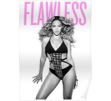 Beyonce FLAWLESS art Poster