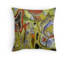 0001 Throw Pillow