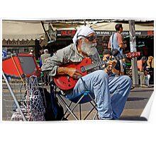 A Guitar Man Poster