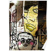 Melbourne Graffiti - Hosier Lane II Poster