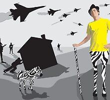 The Bizarre King Of Zebras by Crenshaw