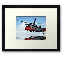 Sea rescue Framed Print