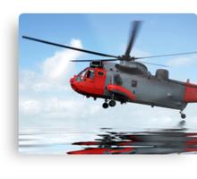 Sea rescue Metal Print