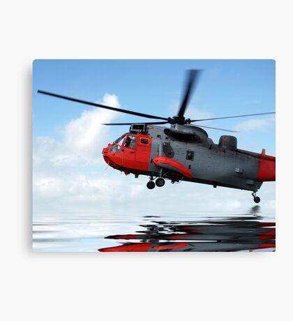 Sea rescue Canvas Print
