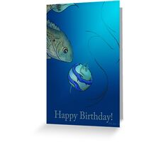 Unusual Bait Greeting Card