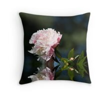 Graceful Peony Throw Pillow