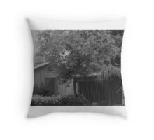 old times Throw Pillow
