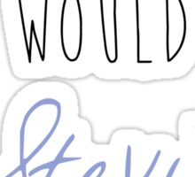 Stevie Nicks- What Would Stevie Do? Sticker