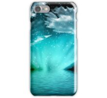 Abstract Ocean Case iPhone Case/Skin