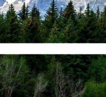 Russian Landscape Sticker