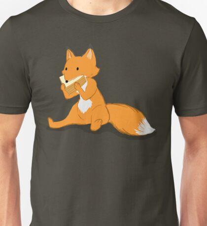 Fox eating a sandwich  Unisex T-Shirt
