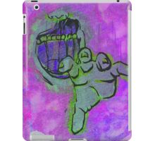 Zombie Screen Print iPad Case/Skin