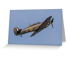 Hawker Hurricane LF363 Greeting Card