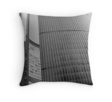City Hall B&W Throw Pillow