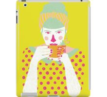 a cup of tea a day iPad Case/Skin