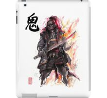 Ganondorf from Zelda game series with Japanese Calligraphy iPad Case/Skin