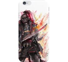 Ganondorf from Zelda game series with Japanese Calligraphy iPhone Case/Skin