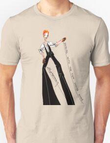"""Dancing with the Thin White Duke"" T-Shirt"