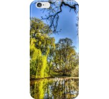 The Pond Side Trees iPhone Case/Skin