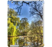 The Pond Side Trees iPad Case/Skin