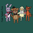 FNAF: Freddy's Pizza by silk-sutures
