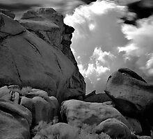 Infra Red Thunderstorm by photosbyflood