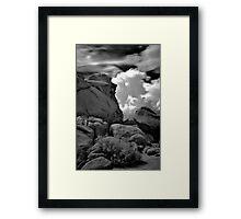 Infra Red Thunderstorm Framed Print