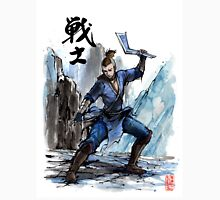 Sokka from Avatar Sumi and watercolor with Calligraphy Unisex T-Shirt