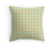 Elegant Decorative Seamless Pattern Throw Pillow