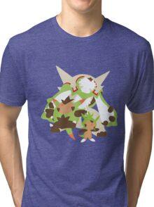 Chespin Evolution Tri-blend T-Shirt