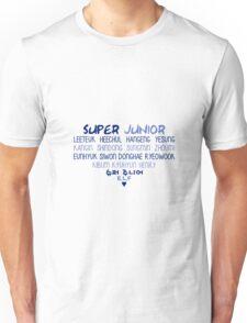 Super Junior Heart Unisex T-Shirt