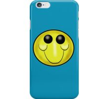 Goofy Smiley face Cartoon iPhone Case/Skin