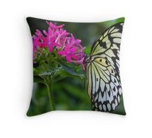The Grace of a Butterfly Throw Pillow