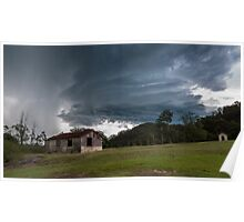 Derelict Storm Poster