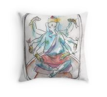 Ganesh - Catch O' the Day Throw Pillow