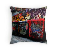 Bins Throw Pillow