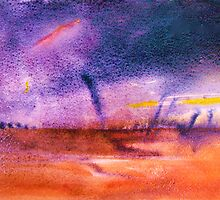 Storm... Outback  Queensland , with Twisters  by Virginia McGowan