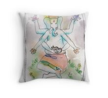 Ganesh - A Friend to All Throw Pillow