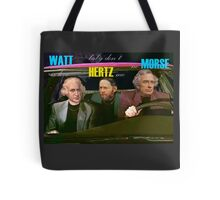 WATT is love, baby don't HERTZ me, no MORSE Tote Bag