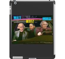 WATT is love, baby don't HERTZ me, no MORSE iPad Case/Skin