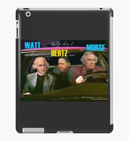 WATT is love, baby don't HERTZ me, no MORSE iPad Case/Skin