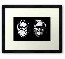 The Two Ronnies Framed Print