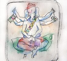 Ganesh - Old Biddy by Tama Blough