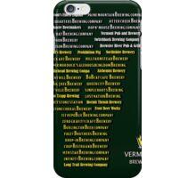Vermont Breweries iPhone Case/Skin