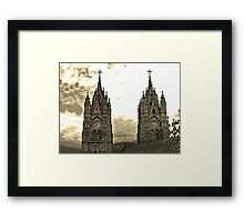 The Best View In Quito V Framed Print