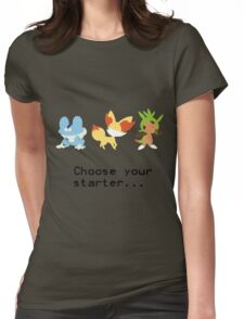 6th Gen Starters Womens Fitted T-Shirt